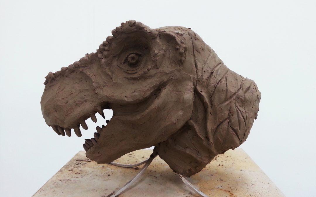 Clay T-Rex