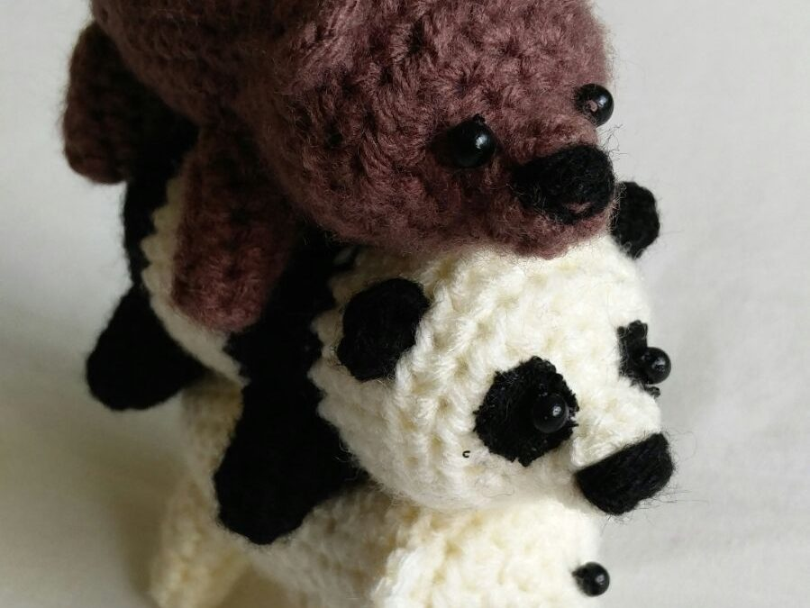 We Bare Bears Amigurumi