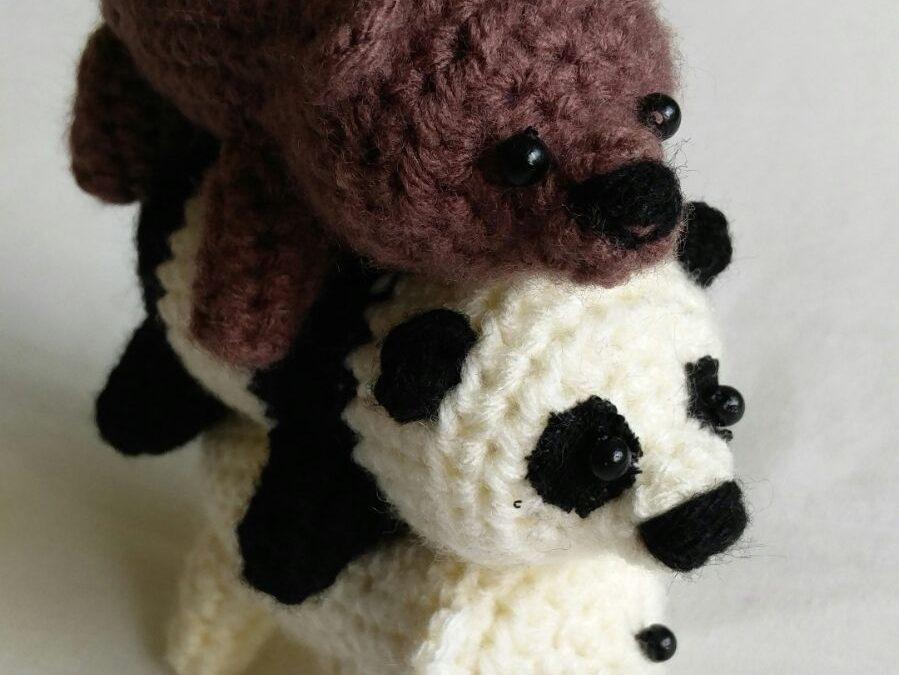AMIGURUMI GRIZZLY & ICE BEAR | WE BARE BEARS | FREE PATTERN ... | 675x899